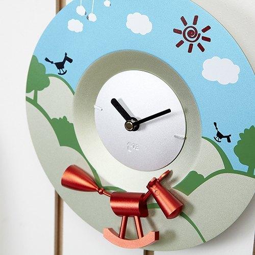 Swap時計系列時尚時鐘 木馬鐘面
