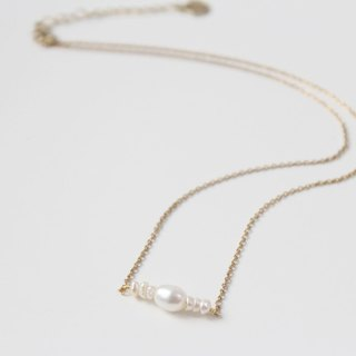 【Pearl】HORUS series-necklace (adjustable)