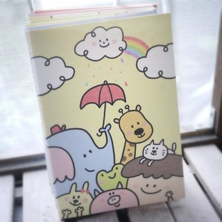 Lattice Notebook_Happy Rainbow Rain