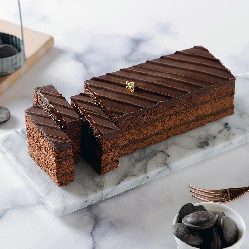 艾波索【巧克力黑金磚18cm】蘋果日報蛋糕評比冠軍