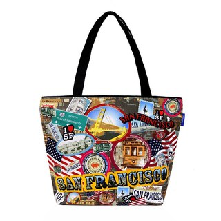 COPLAY  tote bag-sanfrangsisco