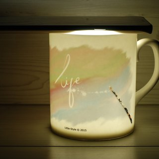 [Bone china mug] painted life (Custom)