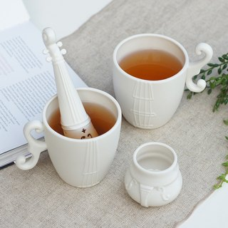 Haoheyuan Violin Tea Tea Group (Three Pieces) - White