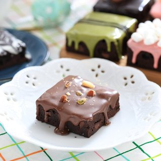 【Mr. Brown Bear chocolate brownie】 Hazelnut milk brownie
