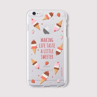 ARDIUM jelly soft shell phone shell iPhone 6 plus - ice cream cones