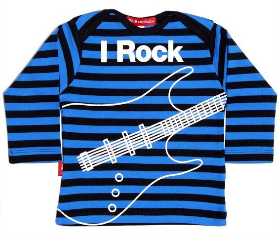 Oh Baby Landon-- I love rock and roll shirt