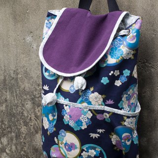 Love the Earth hand-made bag * Backpack | choose your favorite fabric