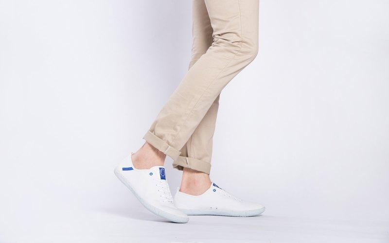 寶特瓶製休閒鞋  Baltik 經典版型  沙灘白 男生款