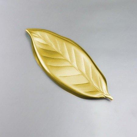 <日本Shinko>設計師系列 作用系列 金木犀葉片筷架(金色葉片)