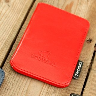 [Dogyball] will be simple and practical with accessories simple wallet Lite Wallet red