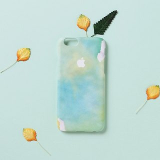 iPhone case - Aquamarine Water Color Texture for iPhones