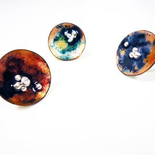 Classical style enamel ring (a total of three colors)