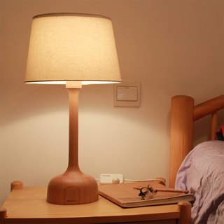 Beladesign. SISTER beech wood table lamp