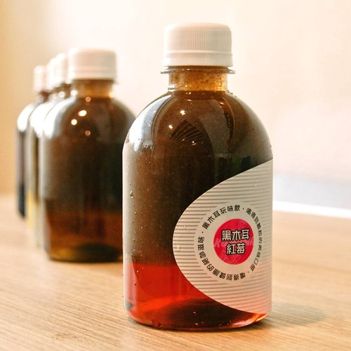 Black fungus raspberry │ exclusive Taiwan exclusive, creative hand-drinking beverage (black fungus dew + cranberry juice)