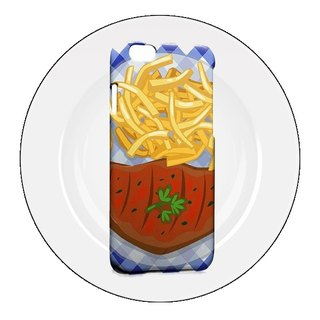 Steak fries design custom Samsung S5 S6 S7 note4 note5 iPhone 5 5s 6 6s 6 plus 7 7 plus ASUS HTC m9 Sony LG g4 g5 v10 phone shell mobile phone sets phone shell phonecase