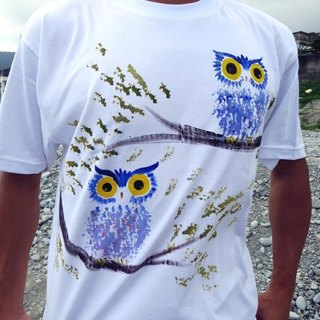 Twin Owls Winwing painted jungle clothing