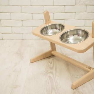 Vincenzo wood sen zuo mu / small butler pet food unit