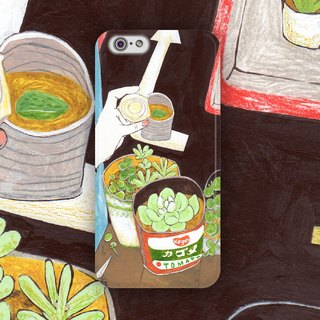 ▷ Umade ◀ day Yao Day 02 with succulents make its own balcony [iPhone (i4s, i5s, i5c, i6, i6s, i6plus, i6splus) / Android (Samsung, Samsung, HTC, Sony) Phone Case / Accessories - matte hard shell - artists] Pei pony PONY PEI
