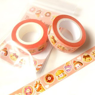 Cute Desserts Washi Tape: Kawaii Food Washi Tape, Scrapbook Decoration