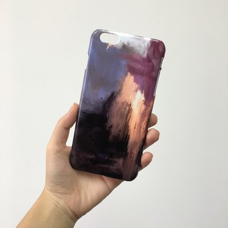 Purple Waterpaint pattern 3 3D Full Wrap Phone Case, available for  iPhone 7, iPhone 7 Plus, iPhone 6s, iPhone 6s Plus, iPhone 5/5s, iPhone 5c, iPhone 4/4s, Samsung Galaxy S7, S7 Edge, S6 Edge Plus, S6, S6 Edge, S5 S4 S3  Samsung Galaxy Note 5, Note 4, Not