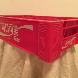 Nostalgic old COCA-COLA Coca-Cola soda tank industrial wind country groceries zakka Nordic lomo photography