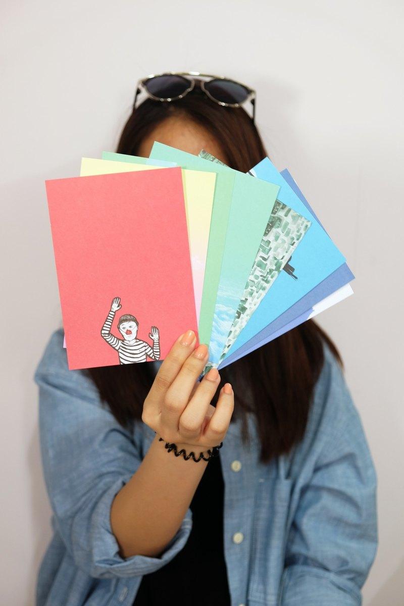 KATRINA 明信片套裝 (八張)
