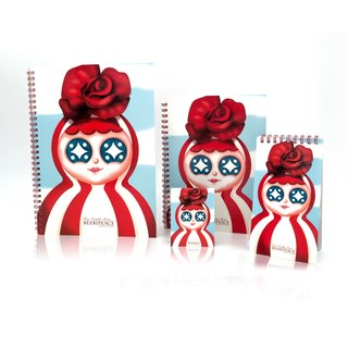 Beebipeace Notepad Set