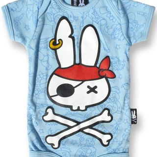 Nasty pirate rabbit PIRATE BUNNY - baby clothing bag fart