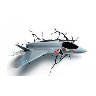 3D Light FX - Car&Jet Series Jet - 3D立體造型燈 噴射機
