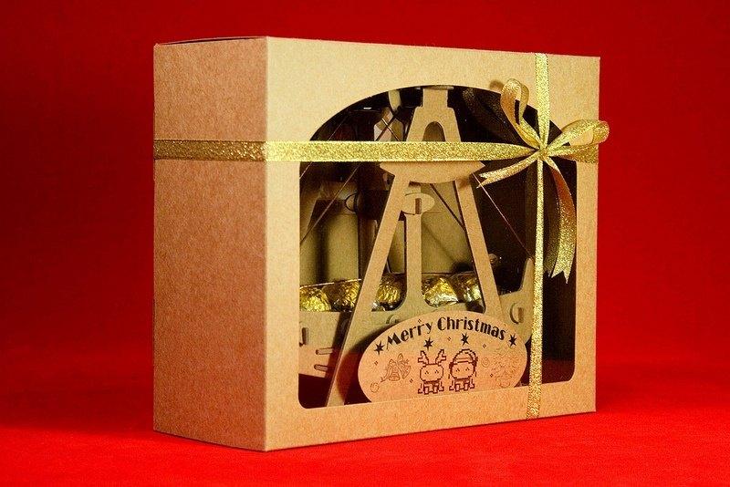 [巧克力遊樂園] 金莎搖搖船禮盒(不含金莎) / 情人節 聖誕節 畢業禮品 生日禮物 交換禮物首選