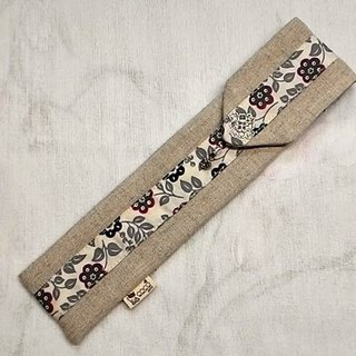 Tableware sets carry pouch chopsticks sets ~ Unique design hand-stitched F02-038