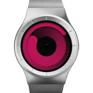 Cosmic gravity watches MERCURY (silver / pink, Chrome / Magenta)