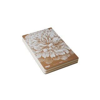 Nine Gold Code and 256page Indian gold Notebook - Peony (2013 Edition)