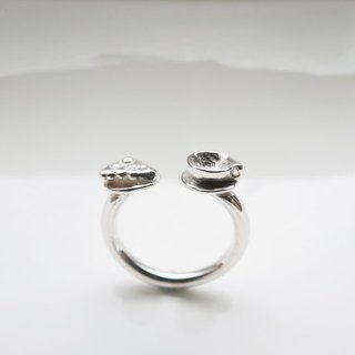 Tea Time (925 sterling silver ring) - C percent handmade jewelry