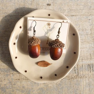 Inner Mongolia Acorn earrings (single)