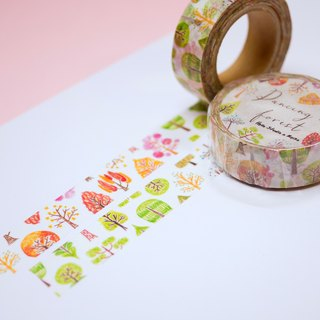 Look at the tree to │Dancing Forest paper tape