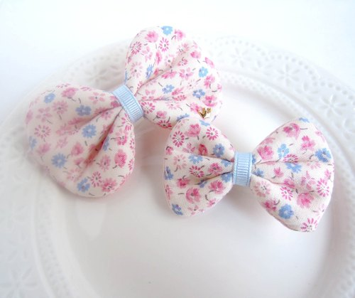 Small floral pink soft cloth butterfly group - paternity / Sister paragraph