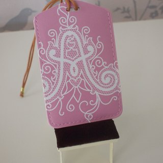Luggage tag - Limited English letters AJ (multipurpose purse)
