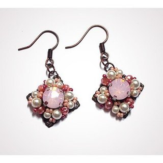 Classical Rose Earrings
