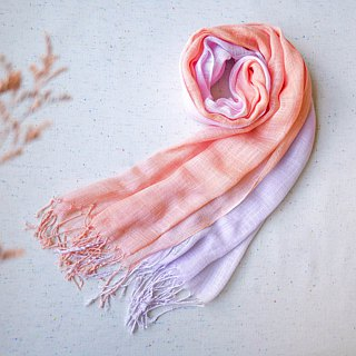 Tie dye/scarf/shawl :Orange:
