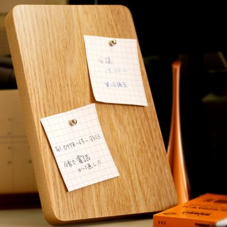 Wood Magnetic Memo Board