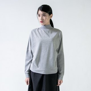 Volcanic Volcanic Tapered High-Neck Sweatshirt_5AF008_Grey