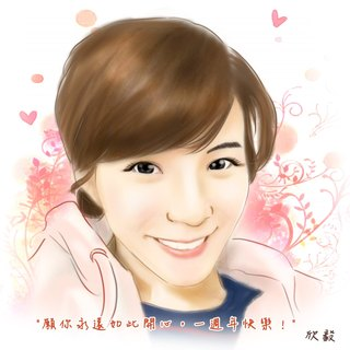 ★ GiftPaint ★ custom portrait beautiful wind (3)