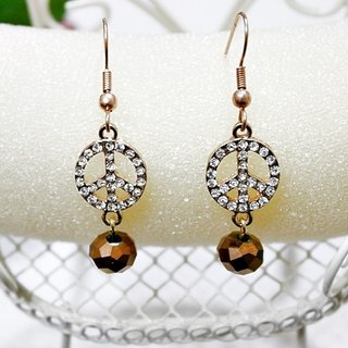 Alloy X Rhinestone <To vote for a vote>_Hook earrings-Limit*1