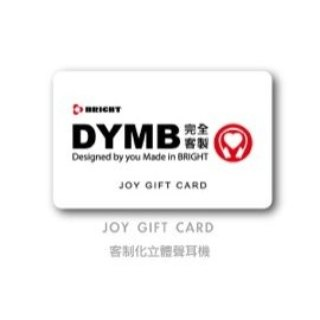 BRIGHT DYMB JOY wired headset gift card