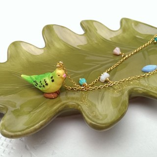 Budgies necklace