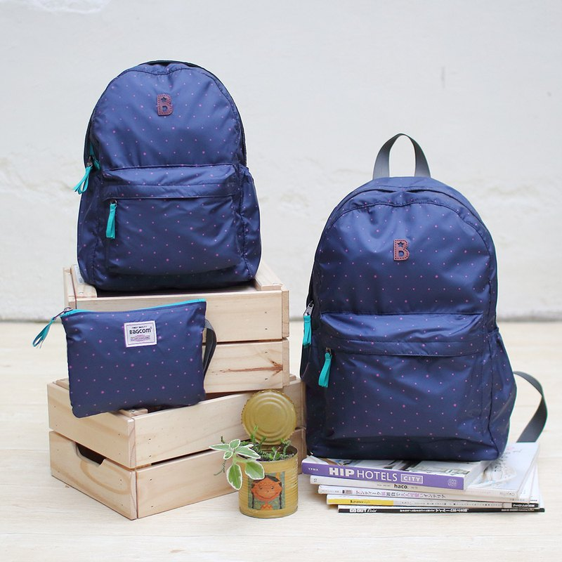 Mildred Backpack(Mini size)_blue_100422-30