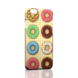 Rows of donuts ordered Samsung S5 S6 S7 note4 note5 iPhone 5 5s 6 6s 6 plus 7 7 plus ASUS HTC m9 Sony LG g4 g5 v10 phone shell mobile phone sets phone shell phonecase