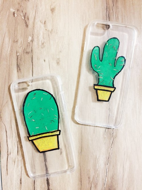 Pressed Flowers Phone Cases - Cactus Collection for iphone 5/5s/SE/6/6s/6 plus/6s plus/7/7plus/Samsung S4/S5/S6/S6Edge/S7/S7Edge/Note3/Note4/Note5