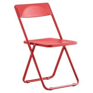 SLIM chair commander _ thin Folding Chair / bare red (only commodity distribution Taiwan)